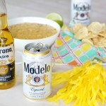 Spicy Beer Queso with Chorizo + Bonus Beer-Garita Recipe!