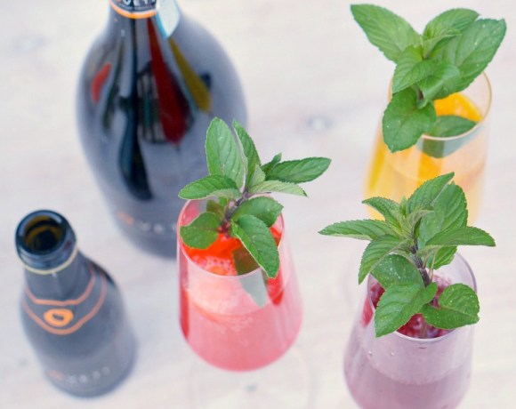 Whether you call it a Sgroppino or prefer to call it a Prosecco Sorbet Cocktail, we know it as AWESOME! Pair VOVETI Prosecco with fruit sorbet and your choice of vodka, gin or Campari for a winning warm-weather cocktail perfect for outdoor summer parties.
