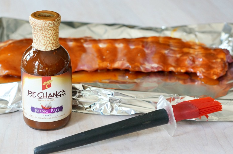 Heat up the grill with this easy Kung Pao Baby Back Ribs Recipe. With just two ingredients and some aluminum foil, you'll have delightfully tender ribs with just the right amount of kick... and did we mention no clean up? The perfect menu solution for your upcoming BBQ or cookout!