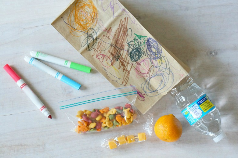 Ensure your kids have the fuel they need to get through the day with these after-school snack bags made with love.