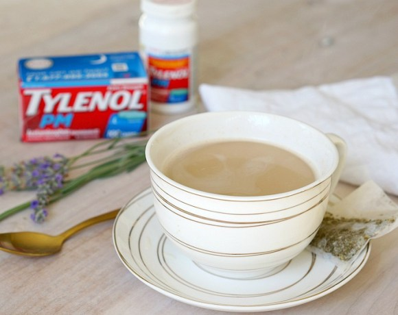 Sweet dreams are in store with TYLENOL® PM and my favorite evening drink - Honey Vanilla Tea.