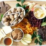 Holiday Cheese and Chocolate Dessert Board: #52WeeksofSweets, Week 26
