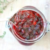 Sangria Cranberry Sauce Recipe