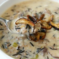 Soul-Warming Mushroom and Wild Rice Soup