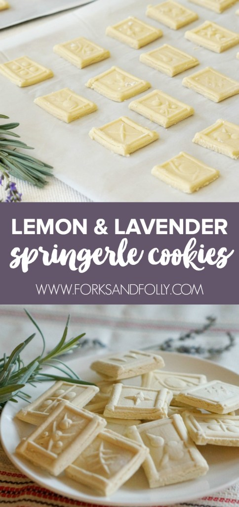 Our Lavender and Lemon Springerle Cookies are an updated classic of the traditional embossed German biscuit.  Pair with a cup of Constant Comment tea for a winning holiday combo.