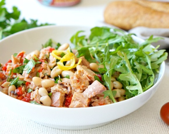 Simple does it with ourItalian Style Preserved Tuna Recipe with Herbs & Beans recipe! Prepare in under 10 minutes with fresh and light ingredients.Inspired by days spent port-side on travels to the coast of Italy.