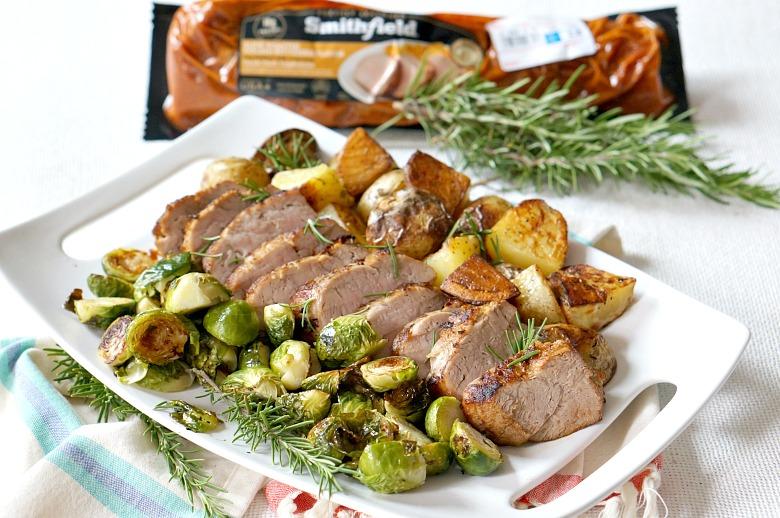 Sheet Pan Pork Tenderloin Dinner