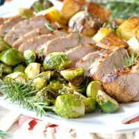 Sheet Pan Pork Tenderloin Dinner