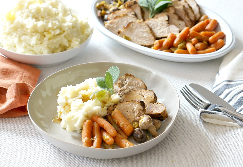Make the crock pot go to work this fall with our Slow Cooker Pork Loin with Fall Veggies recipe. FeaturingSmithfield Marinated Fresh Pork, this meal takes less than 30 minutes to prep and has just five other ingredients!