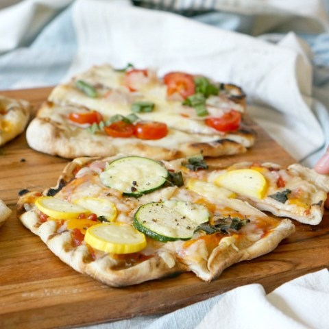 Mix and match seasonal produce for these incredibly tasty Summer Pizzas that we're cooking up on the grill.