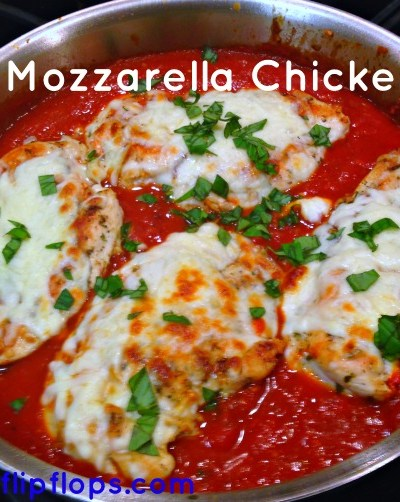 Mozzarella Chicken Marinara