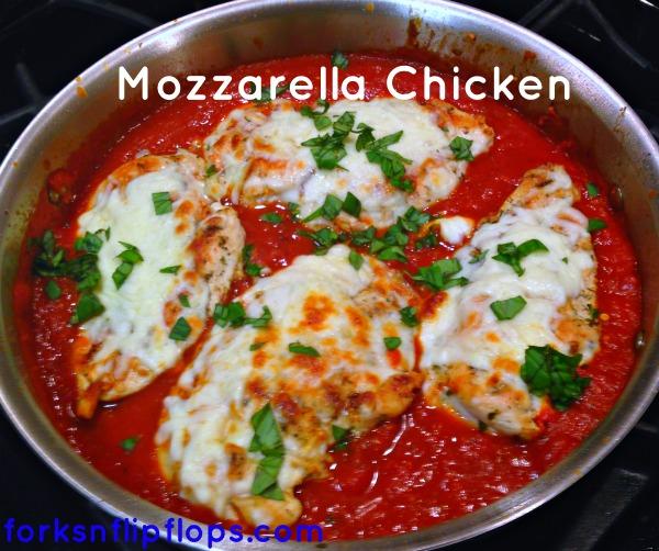 Mozzarella Chicken