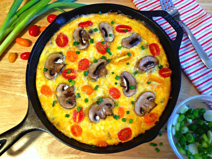 sausage-and-heirloom-tomato-frittata