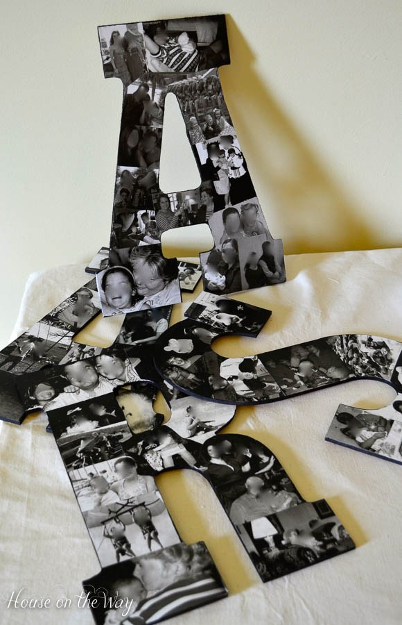 diy-photo-collage-letters