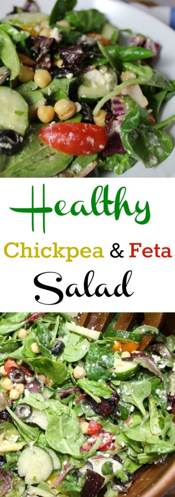 Healthy Chickpea and Feta Salad