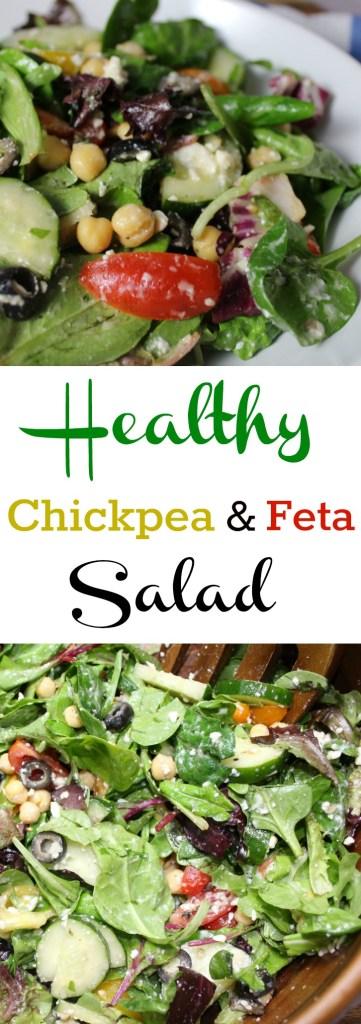Healthy Chickpea and Feta Salad