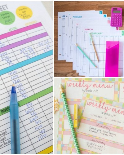 10 Free and Brilliant Budget Printables to Organize Your Finances