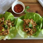 Spicy Chicken Lettuce Wraps