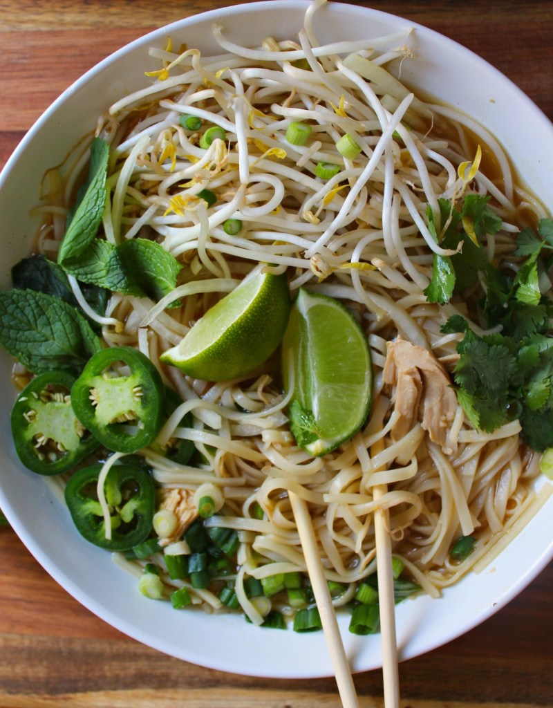 Easy Chicken Pho Soup