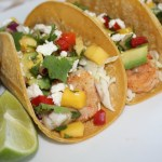 Shrimp Tacos with Mango Salsa