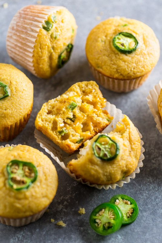 Honey-Jalapeno-Cornbread-Muffins