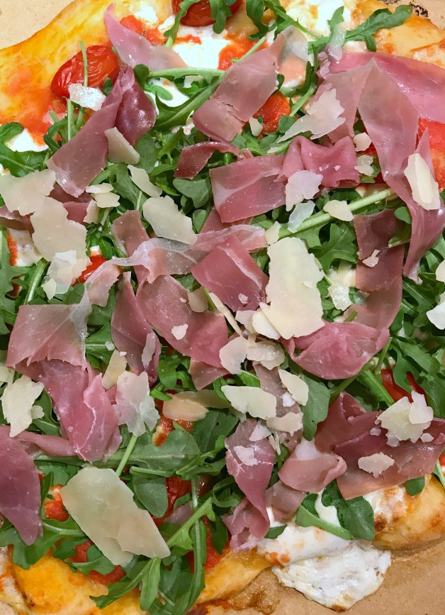 Prosciutto Arugula Pizza - Forks 'n' Flip Flops