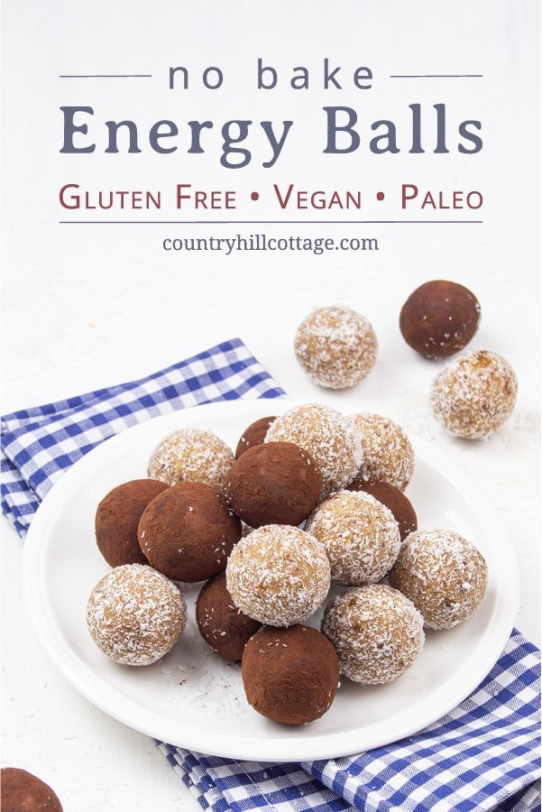 No-bake vegan energy balls