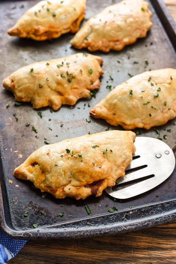 Cheesy Ground Beef Empanadas