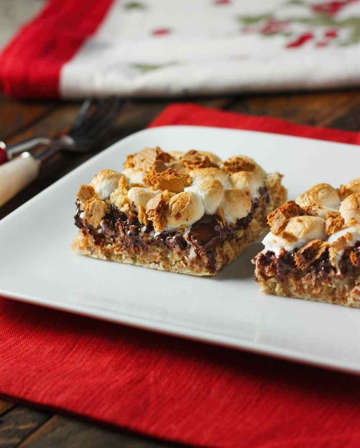 Drunken S'mores Bars