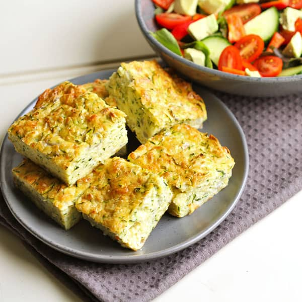 Healthy Zucchini Slice Recipe