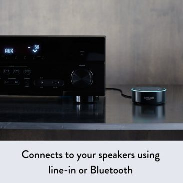 Connects To Your Speakers Using Line-In Bluetooth