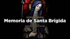 [Homilía Diaria] Memoria de Santa Brígida