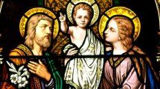 San José y la Sagrada Familia
