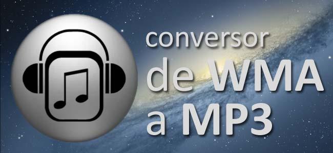 Convertir WMA en MP3 en Mac