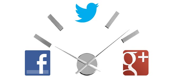 Formación online: la mejor hora para publicar en redes sociales