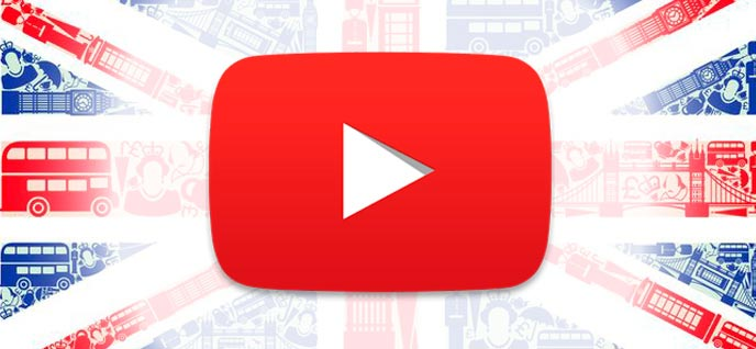 Vídeos de Youtube para aprender inglés