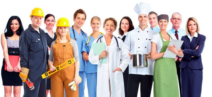 Formación con los cursos para trabajadores