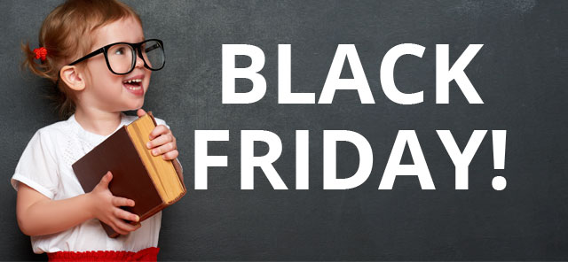 Cursos en Black Friday con descuentos