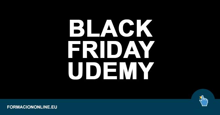 Black Friday en UDEMY: Todos los cursos a 9,99 hasta el