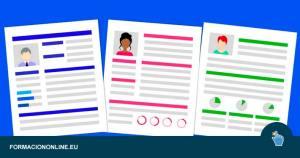 Mejores plantillas para un currículum