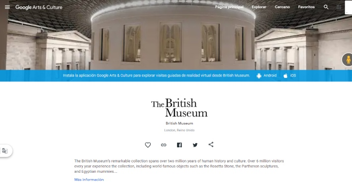 visita el museo de Londres gratis