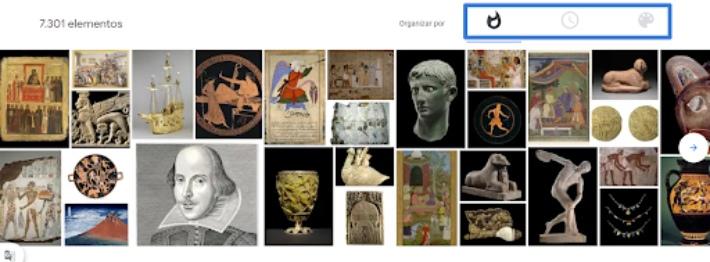 visita colecciones de museos gratis