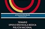 Temario policia nacional escala básica