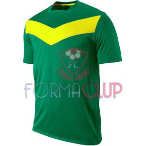 Y 2017 Victory GD Gold Yeşil/Sarı Kısa Kol Halı Saha Forma ve Şort(TAKIM)
