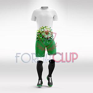 2018 Yeşil Trabzon Halı Saha Forması + Şort