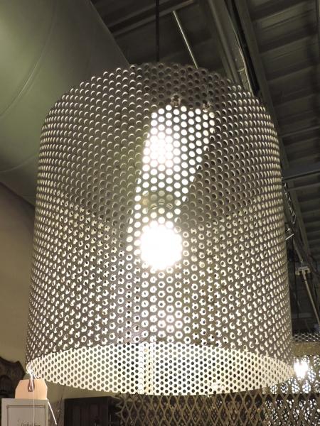 Large Drum Pendant Light