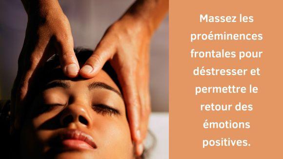 Massage pour déstresser et permettre le retour des émotions positives