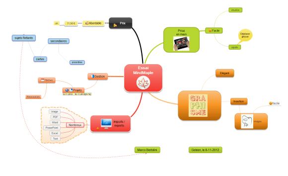 Mindmaple : test d'un logiciel particulièrement innovant
