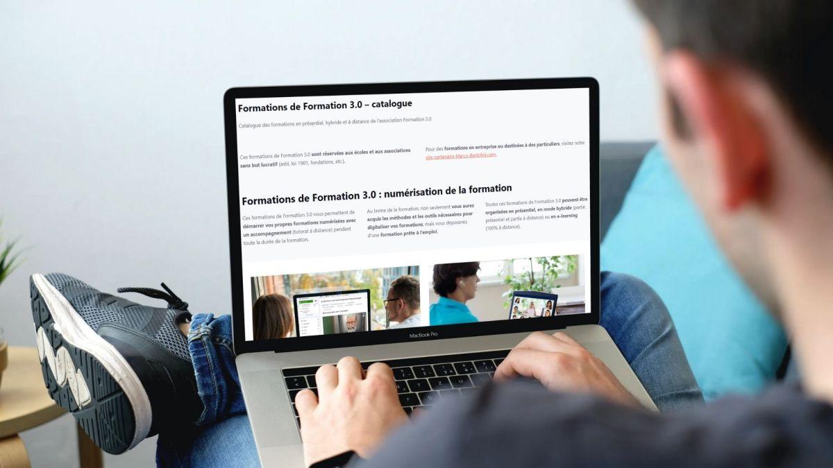 Formations de Formation 3.0 - le catalogue complet