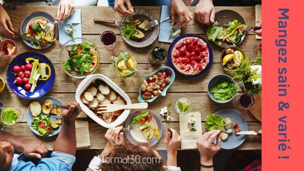 Comment prendre soin de votre cerveau - mangez sain et varié